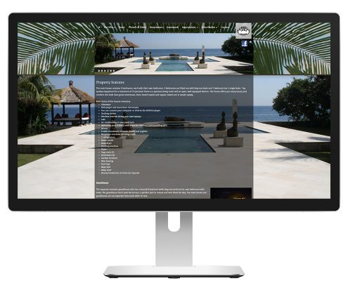 Portfolio features - Villa Mimpi