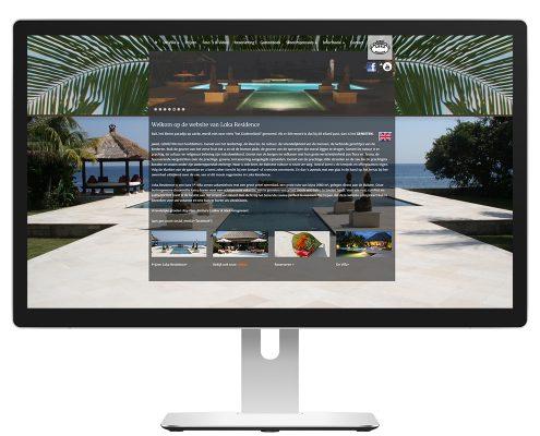 Portfolio homepage - Villa Mimpi
