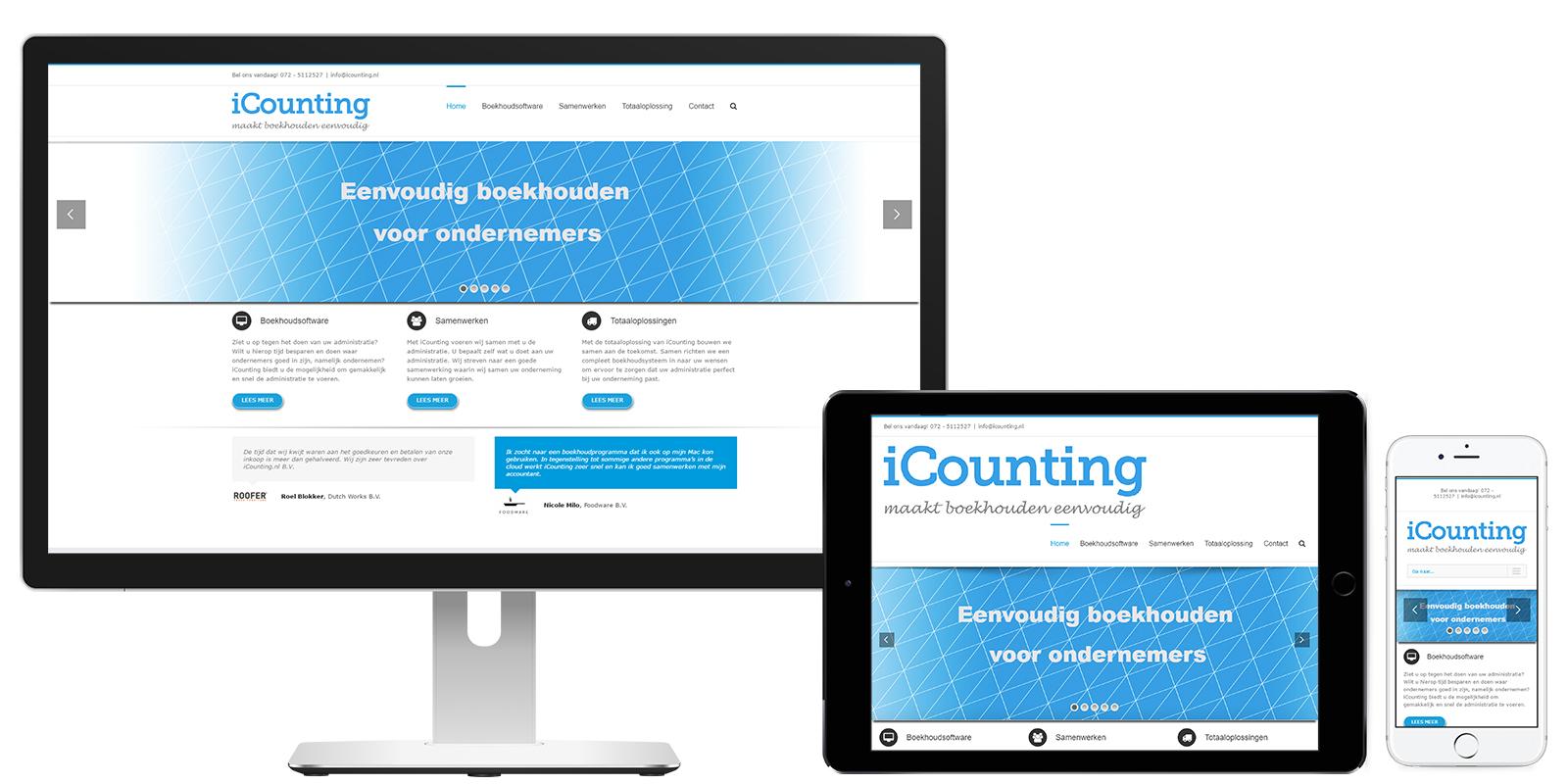 Overzicht iCounting
